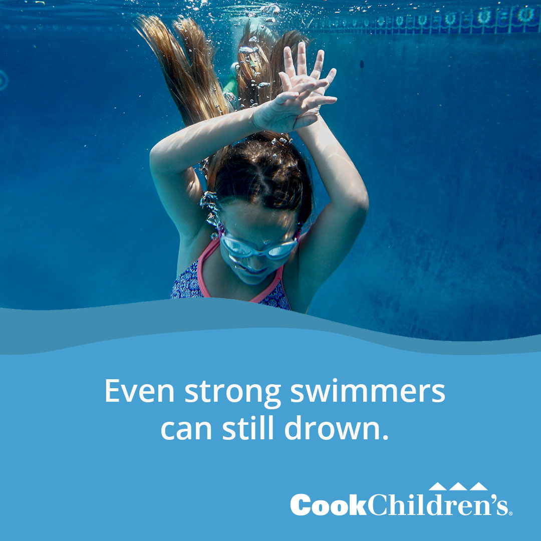 Strong swimmers can drown
