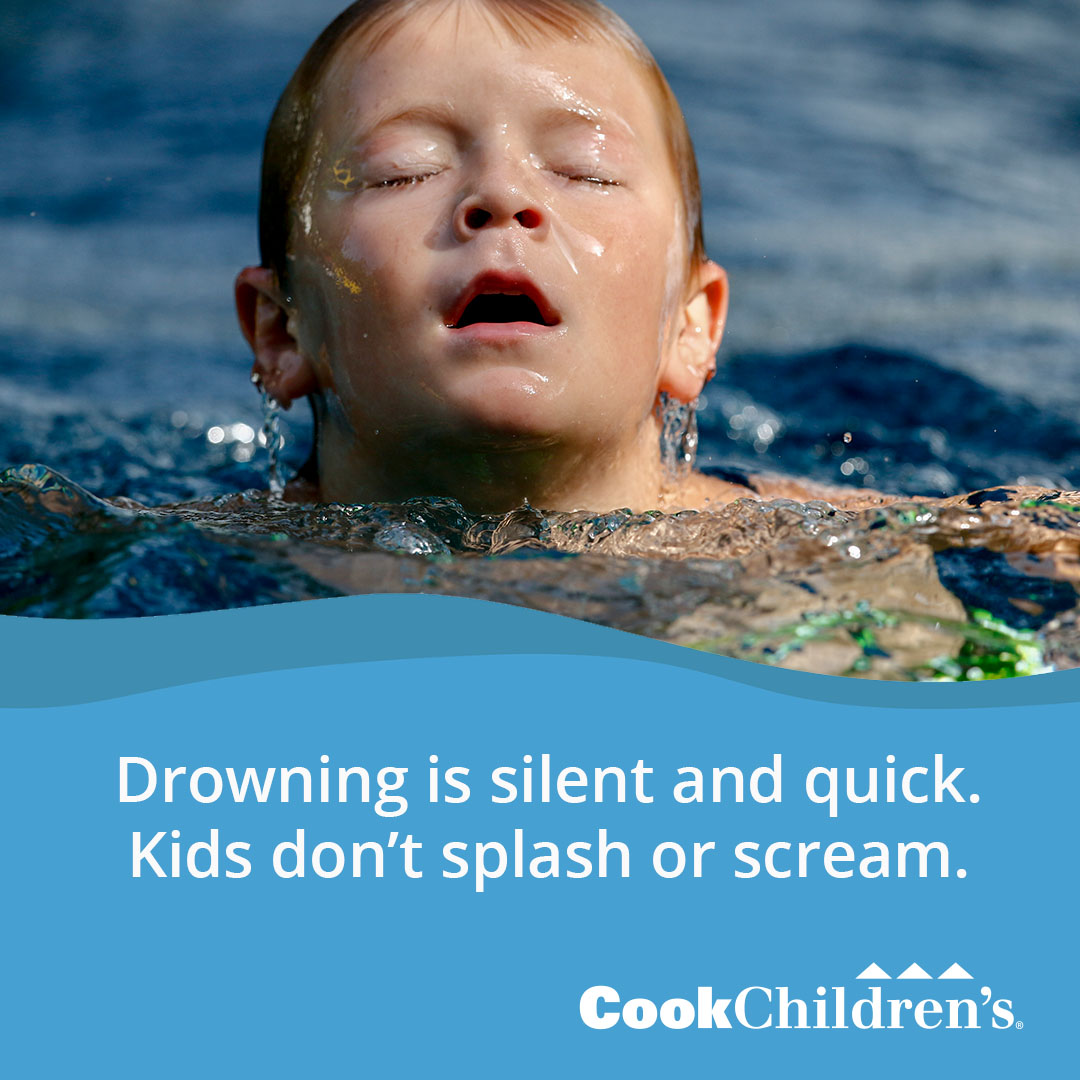 Drowning is silent